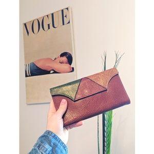 Vintage | Buffalo Leather | Tri Fold Wallet
